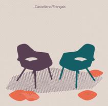 Tarjeta de visita Terapeuta. Un proyecto de Diseño gráfico e Ilustración vectorial de Montse Soria         - 28.09.2017