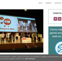 Artículo sobre el Congreso Web Zaragoza 2017. A Cop, and writing project by Alejandro de Mena Dávila         - 03.07.2017
