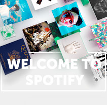 Welcome to Spotify. A Design, 3D, Animation, and Art Direction project by Altea Llorodri         - 03.10.2017