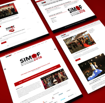 SIMOF. A Design, UI / UX, Information Architecture, Interactive Design, Web Design, and Web Development project by mkg20 - 20-02-2016