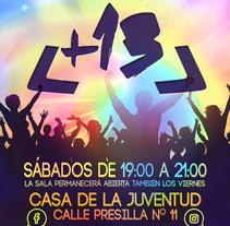 Cartelería +13 2017. A Infographics project by Abraham Faraldo         - 05.10.2017