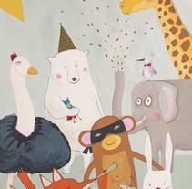 Animalada. Un proyecto de Ilustración de Berta Fortet Berne - 13-10-2017