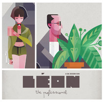 Léon The Professional. A Illustration, and Vector illustration project by Ricardo Polo López - 13-10-2017