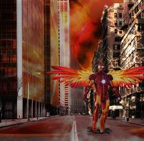 Fotomontaje de Iron Man. A Graphic Design project by Marii Cabrera - 18-10-2017