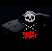 DEATH PROOF. A 3D, and Art Direction project by les83machines .         - 15.10.2017