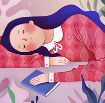 Ilustración_2. A Illustration, Character Design, and Fine Art project by Ana Varela          - 18.10.2017