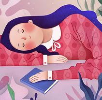 Ilustración_2. Un proyecto de Ilustración, Diseño de personajes y Bellas Artes de Ana Varela          - 18.10.2017