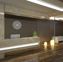 Recepción. A 3D, and Lighting Design project by Javier Reinon         - 19.10.2017