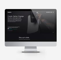 Website Design - Blue Juice. A UI / UX, Graphic Design, and Web Design project by Triston Robinson         - 15.10.2017