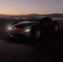 Knight Rider Tribute. Un proyecto de Diseño, Ilustración, 3D y Diseño de automoción de Luis Costales Ponga - 10-06-2017