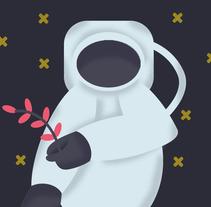 ¿Que cultivo llevaremos al espacio?. A Illustration project by Cesar Ruesgas         - 23.10.2017