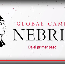 Video de Motion Graphics para Global Campus Nebrija. A Motion Graphics, Film, Video, TV, Animation, Video, Sound Design, Infographics, and VFX project by Jose Martinez Fernandez-Pacheco         - 24.10.2017