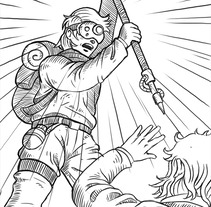 Ilustraciones «Project BE». A Illustration project by Rubén Megido         - 24.08.2017