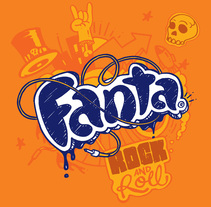 Fanta Edición Especial - Coca Cola Argentina. A Design, Illustration, Packaging, and Lettering project by Diego Giaccone         - 24.01.2018