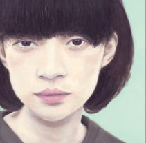 Portada ilustrada con óleo para: Tokio Blues, de Haruki Murakami. Um projeto de Ilustração, Design editorial e Pintura de Nat de la Croix         - 26.10.2017