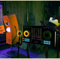 Move / Think / Rebirth /// La música muere.. A 3D project by Benjamín Peña - 01-11-2017