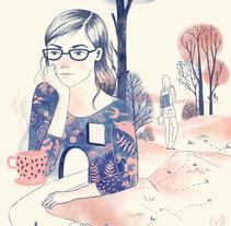 Estoy precisamente en ningún lado sin ti. A Illustration project by Maria Lumbreras         - 02.05.2016
