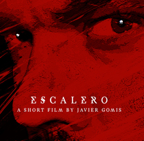Cartel Escalero - Cortometraje. A Design, Photograph, Graphic Design, Film, and Vector illustration project by María Cano         - 02.11.2017
