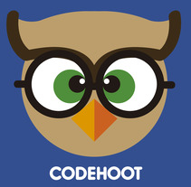 CodeHoot Logo. A Graphic Design project by Luis Aponte         - 13.08.2017