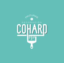 Pintura & Decoración (Cohard). A Graphic Design project by Juan Palacios         - 05.11.2017