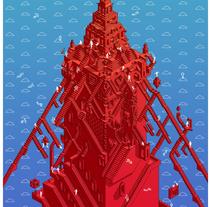 Torre. A Illustration project by Enestor Miranda Alarcón         - 06.11.2017