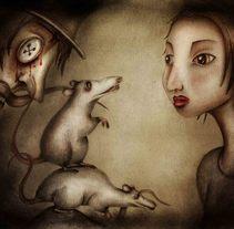 """Introducción a la ilustración infantil. Cuento ilustrado: """"Coraline"""" de Neil Gaiman. Un proyecto de Ilustración de Sergi Hernández         - 06.11.2017"""
