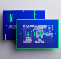 INDIRECTE. Un proyecto de Dirección de arte, Br, ing e Identidad, Diseño gráfico y Diseño Web de Bakoom Studio         - 07.11.2017