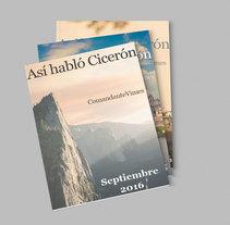 Maquetación de 'Así Habló Cicerón'. Un proyecto de Diseño editorial y Diseño de la información de Cristina Coll Fernández         - 08.11.2017