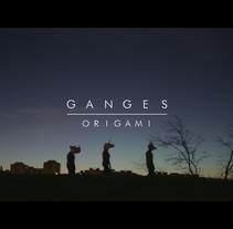 Videoclip_Origami_Ganges. Un proyecto de Vídeo de Ana De Nevado         - 14.11.2017