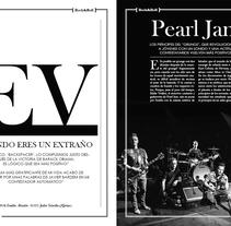 Sección Revista Rolling Stones (Ficticio) . Un proyecto de Diseño gráfico de Emilio Martín         - 14.11.2017