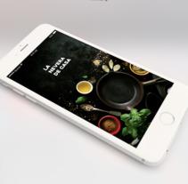 Mobile App | La Nevera de Casa. Um projeto de Desenvolvimento de software, UI / UX e Design gráfico de by Andrea Suarez         - 14.11.2017
