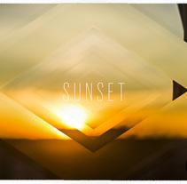 Sunset. Um projeto de Design gráfico de Diego Delgado Elguera         - 16.11.2017