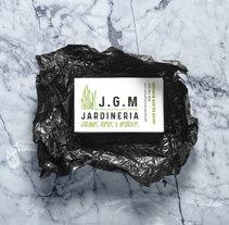 DISEÑO TARJETAS JARDINERÍA. Um projeto de Design gráfico de Ines Carballido         - 20.11.2017