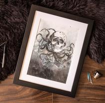 Mi Proyecto del curso: Técnicas experimentales de ilustración: de lo digital a lo artesanal. Un proyecto de Bellas Artes de Ale Camara - 26-11-2017