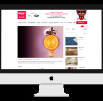 Design Shanghai website. Un proyecto de UI / UX y Diseño Web de Janaina Da Silva Alonso         - 14.01.2015