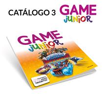 Catálogo 3 GAME Junior. A Graphic Design project by Fernando Escolar López-Roso - 29-11-2017