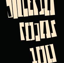Gilberto Rojas Músico y Compositor Boliviano . Un proyecto de Diseño gráfico y Tipografía de Daniel Uria         - 01.12.2017