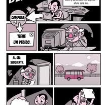 El coleccionista. Um projeto de História em quadrinhos de León Palomares Pérez         - 01.03.2016