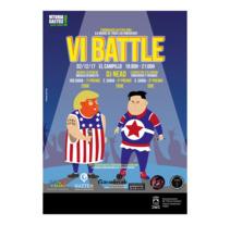 VI Battle. Un proyecto de Diseño, Ilustración, Diseño de personajes, Diseño editorial, Diseño gráfico e Ilustración vectorial de Fran Ceballos - 06-12-2017
