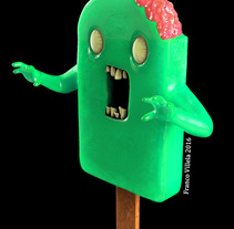 Lagomorfos - Paleta zombie. A 3D, and Character Design project by Franco  Villela - 21-05-2017