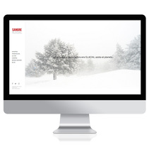 Website Sangre Glacial. A UI / UX, Art Direction, Web Design, and Web Development project by Emilio Biel Ramajo         - 14.12.2017
