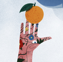Cartel Ciclo de jornadas sobre consumo en Ciempozuelos. Un proyecto de Diseño e Ilustración de Laura Bustos         - 21.12.2017