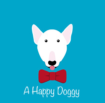 A Happy Doggy. A Design, Advertising, UI / UX, Marketing, Writing, Cop, and writing project by Andrea Bertomeu Esteve         - 10.01.2018