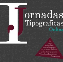Primeras Jornadas tipográficas.. A Graphic Design project by LittleStar         - 14.01.2018