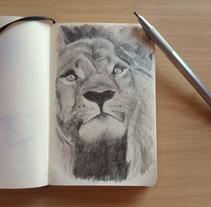 ...just another sketch.... Um projeto de Ilustração e Artes plásticas de Helena de la Cruz - 20-01-2018