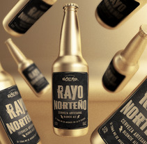 Rayo Norteño. A 3D, Art Direction, Br, ing, Identit, Graphic Design, Packaging, Product Design, Web Development, Naming, and Lettering project by Guillermo Tejeda - 26-08-2017