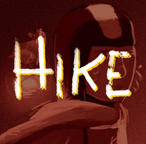Hike. A Illustration, and Animation project by Daniel Jimenez         - 24.01.2018