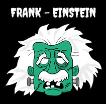 Frank - einstein. A Vector illustration project by Verónica Lara Mantas         - 24.01.2018