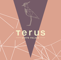 Terus - Coffe Palace. A Br, ing, Identit, Graphic Design, and Product Design project by Nelson Perez         - 25.01.2018