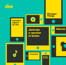 DIVE. A Art Direction, Br, ing, Identit, Graphic Design, Vector illustration&Icon design project by Álvaro Fernández Maldonado - 25-01-2018